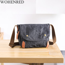 Brand Travel Men's Crossbody Bags Casual Canvas High Quality