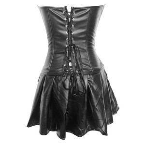 Image 5 - Plus Size Erotic Lingerie For Women Latex Baby Doll Sexy Lingerie Leather Erotic Dress Pole Dance Sexy Underwear Erotic Costumes