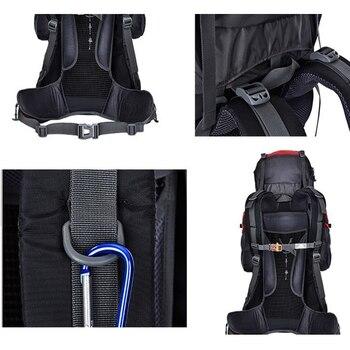 Hot  Large 85L Outdoor Backpack Unisex Travel Multi-purpose climbing backpacks Hiking big capacity Rucksacks camping bag 6