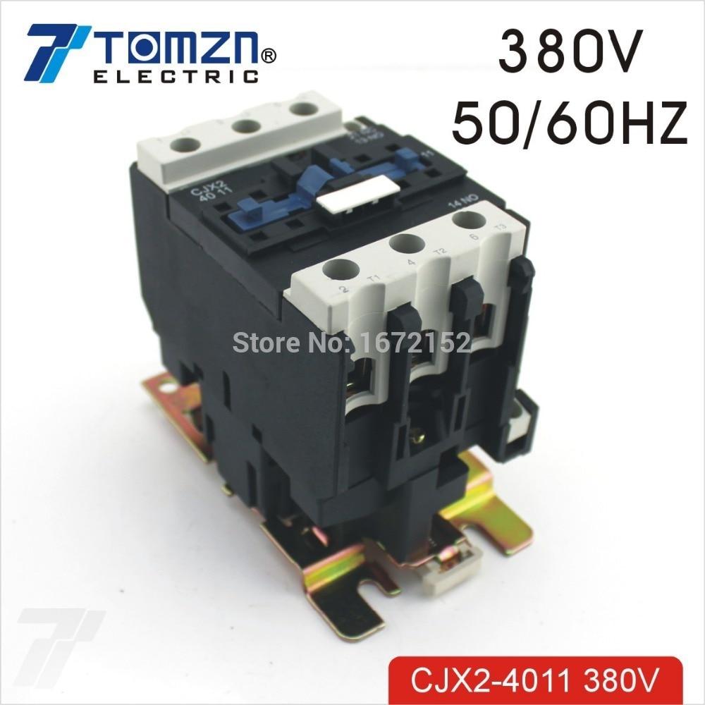 CJX2 4011 AC contacteur LC1 40A 380 V 50 HZ/60 HZCJX2 4011 AC contacteur LC1 40A 380 V 50 HZ/60 HZ