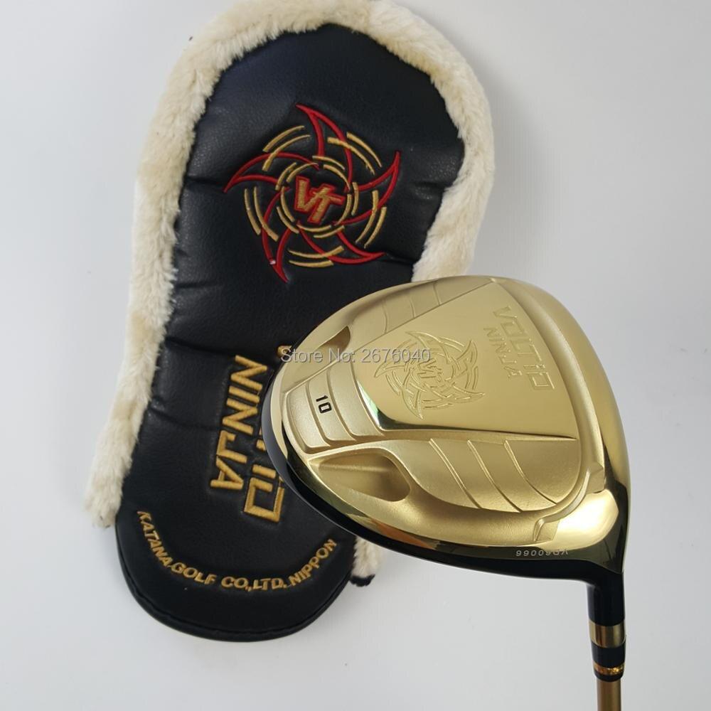 Driver di Golf KATANA NINJA 880HI Golf driver di Golf Golf club 9 o 10 loft pozzo della grafite R S flex driver clubsFree trasporto libero