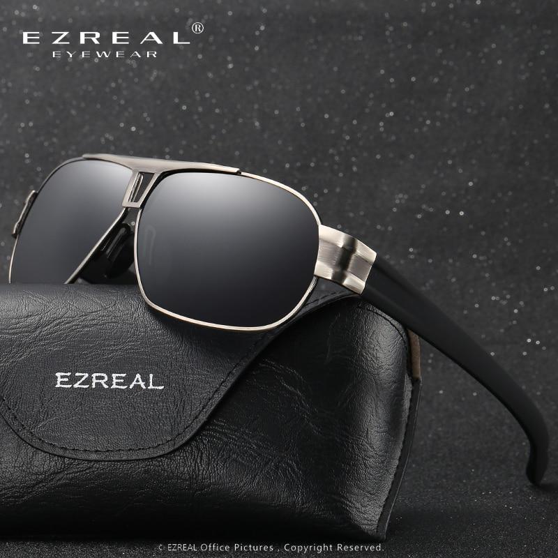 משקפי שמש מקוטבים EZREAL HD נהיגה משקפי - אבזרי ביגוד