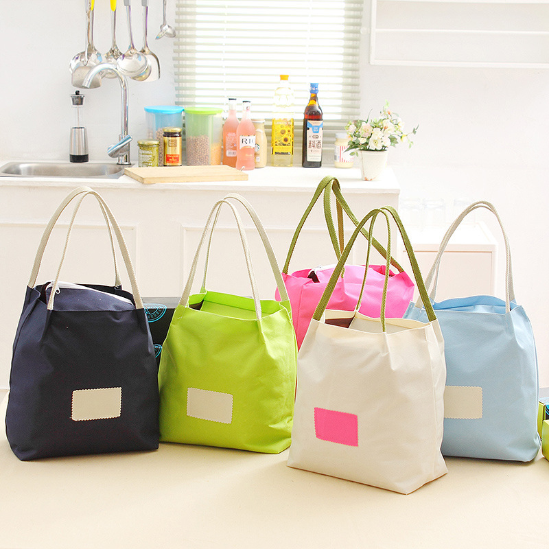 QZH Lunch Bags for Women Kids Large Capacity Lunch Box Food Picnic Bags Tote Handbags Waterproof