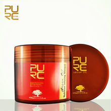 PURC For All Hair Types Hair Mask Repairs Damage Dry Hair Eliminates Frizzy Hair Make Hair Soft Smooth Argan Oil Conditioner