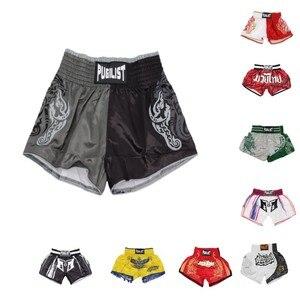 Шорты для бокса MMA, дышащие спортивные шорты для фитнеса, Tiger Muay Thai fist, недорогие шорты для бокса mma