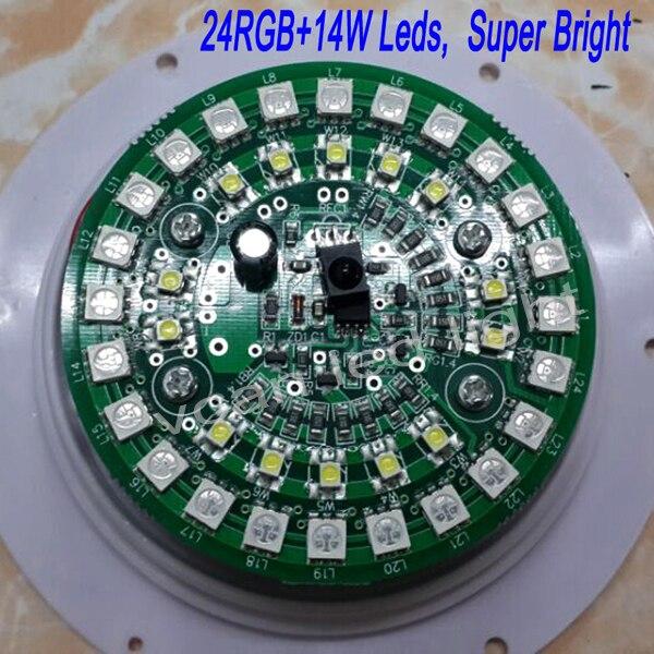 DHL besplatna dostava Super Bright RGB 16 boja Daljinski upravljač - Različiti rasvjetni pribor - Foto 5