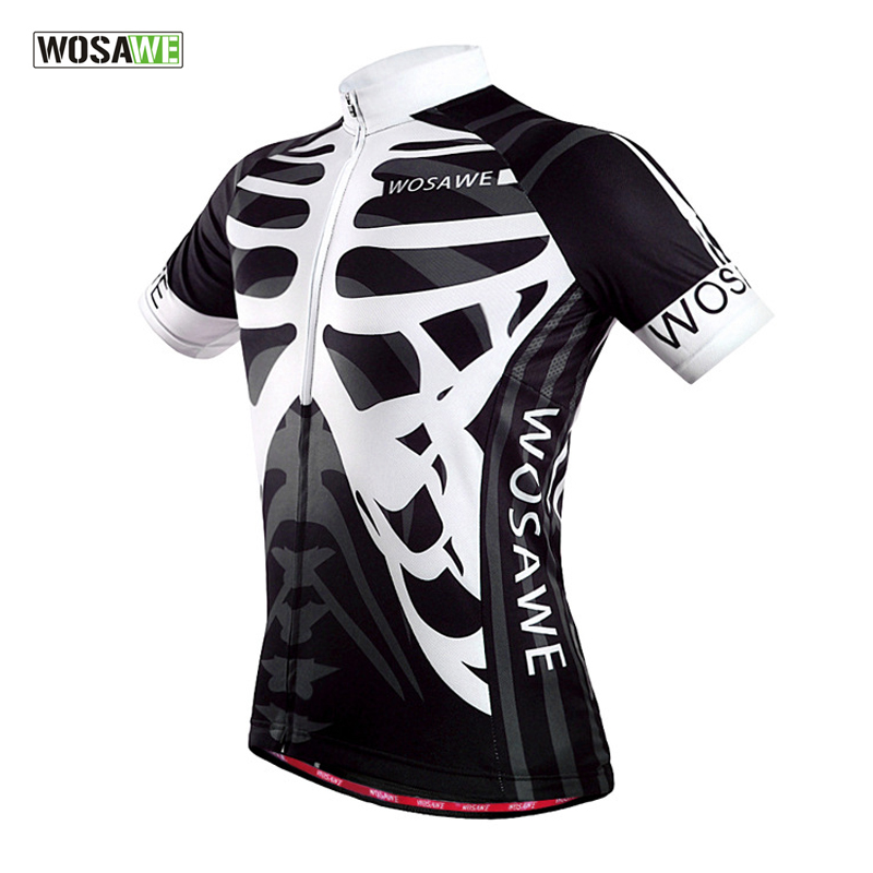 Brand Men Pro Short Sleees Road Cycling Jersey Breathable Mesh Fabric Bicycle Shirt size S 2XL