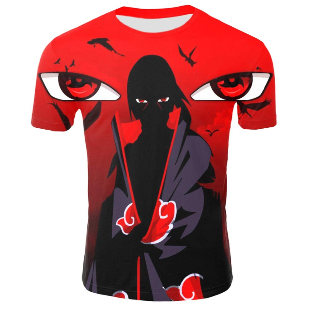 2019 New Hot Anime Naruto T Shirt Men Summer Funny Namikaze Minato 3D Printed Men/Women T-Shirt Casual Harajuku Tshirt Tops&Tees