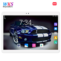 Frete Grátis Inteligente Mais Novo Tablet PC Phone Call Android 7.0 10.1 Polegada Octa Núcleo 1920x1200 WiFi Tablets pc 10 presentes 32 GB/64 GB