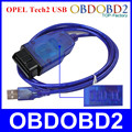 Professional OBD2 Interface Diagnostic Interface For OPEL Tech2 USB Cable Opel Tech 2 USB Scanner