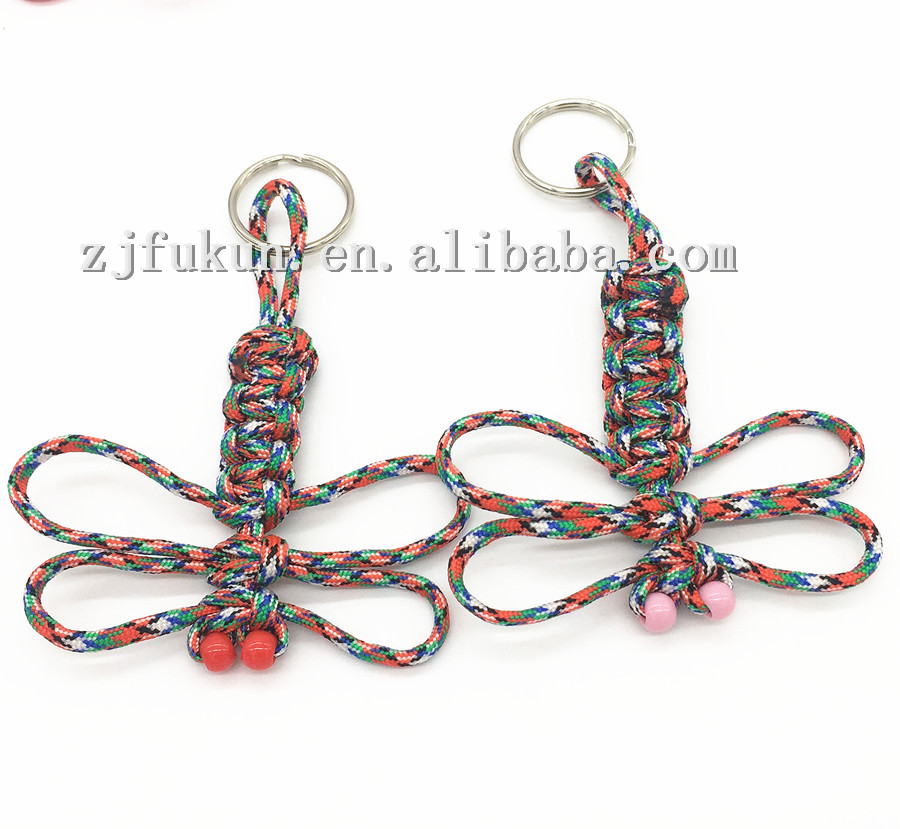 20pcs/lot Beautiful Hanging Ornament Decor Paracord Weave Animal ...