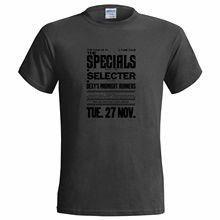 THE SPECIALS SELECTER TOUR POSTER MENS T SHIRT SKA 2 TONE Men'S T-Shirts Summer Style Fashion Swag Men T Shirts. lacywear платье sd 2 ska href