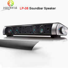 Upgraded Newest HIFI Portable Bluetooth 10w Soundbar Mini Wireless Speaker Amplifier Stereo Sound Bar with Mic USB Amplifiers