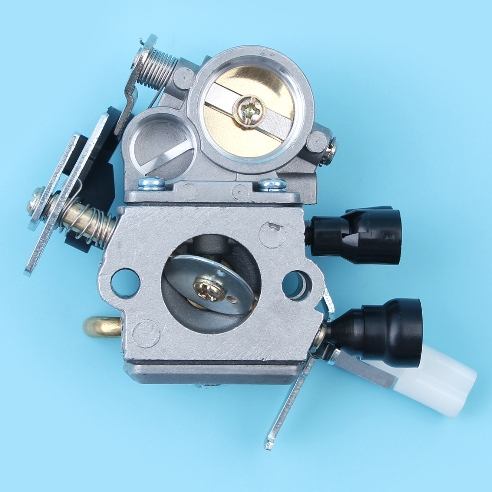 все цены на Carburetor Carb Carby Assembly For Stihl MS171 MS181 MS211 MS201 Chainsaw ZAMA C1Q-S269 #1139 120 0612 NEW PARTS онлайн