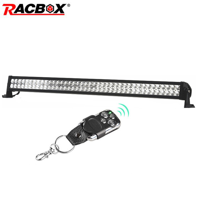 240W 42 inch LED Work Light Bar Combo Beam For Jeep Wrangler Offroad 4x4 4WD ATV MPV Boat SUV Truck Tractor Automobile 12V 6000K new light sourcing 17 inch 72w light bar with screws for wrangler offroad suv atv boat truck