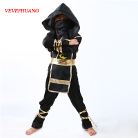 VEVEFHAUNG Kids Ninja Costumes Halloween Party Boys Girls Warrior Stealth Children S Day Cosplay Assassin Costume