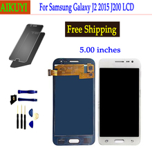 For Samsung Galaxy J2 2015 J200 LCD Display J200F J200M J200H J200Y LCD Display Digitizer Touch Screen Repair Digitizer Assembly replacement lcd display with touch screen digitizer assembly for samsung galaxy j2 asm j200f j200h j200m j200y j200g