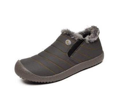 LFFZ Super Warm Men Winter Boots for Men Warm Boots Shoes 2018 Men's Ankle Snow Boot Botas Masculina plus size 36-48 ZLL155