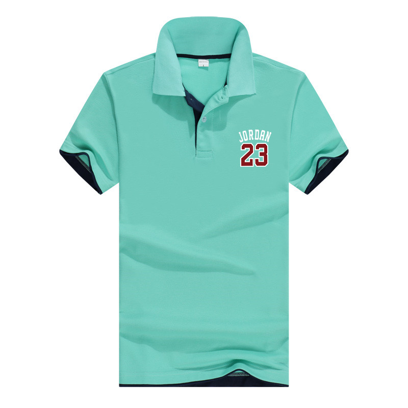 2019 Men'S   Polo   Shirt For Men Designer   Polo   Men Cotton Short Sleeve Shirt Clothes Jerseys Golf tennis Short Sleeve Jordan 23 Pol