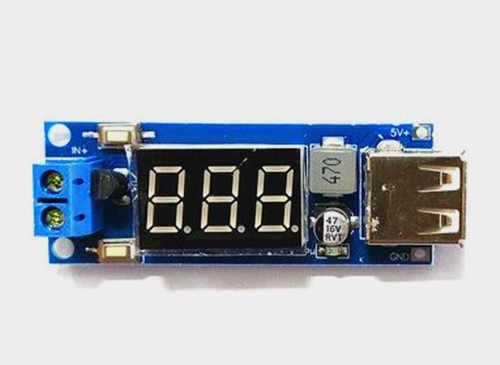 Free Shipping!!! DCDC Buck Power Module / Onboard Battery Voltmeter + 5V USB Charging