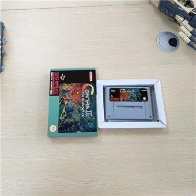 Jogo de Ação Contra III O Alien Wars Com Caixa de Varejo Versão EUR