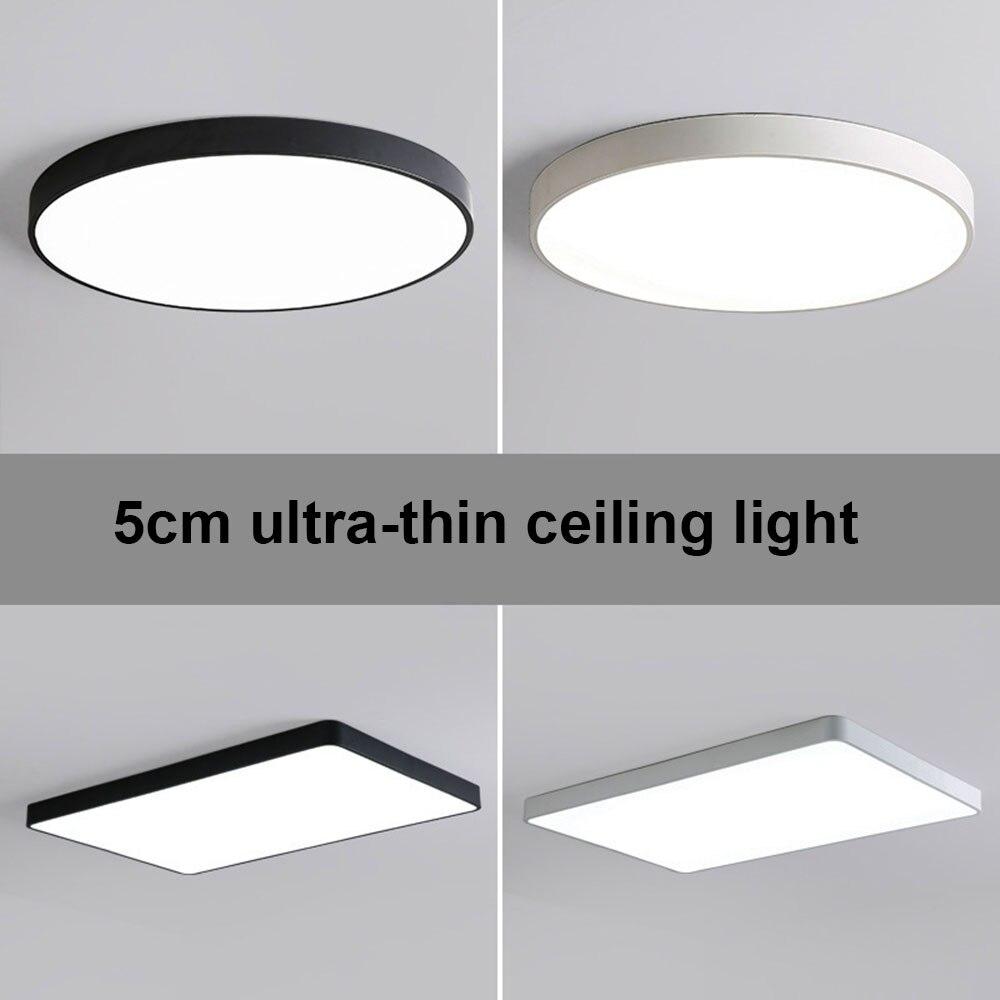 Oświetlenie Sufitowe Led Nowoczesne Lampy Panel Salon