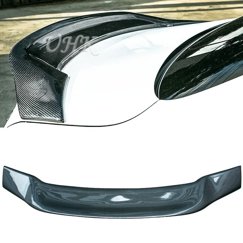 Accessories Mercedes For E Class W207 Renntech Style Carbon Fiber Rear Spoilers Air Auto Wings Spoyler Trunk|carbon fiber rear spoiler|rear spoiler|air spoiler - title=