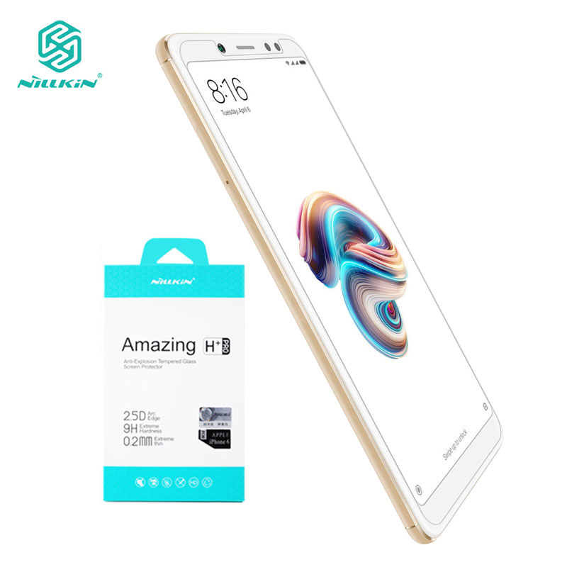 Tempered Glass for Xiaomi Redmi Note 5 6 Pro 7 7S Note5 Note7 Nillkin Amazing H+Pro 0.2MM Screen Protector Redmi Note 5 Glass-in Phone Screen Protectors from Cellphones & Telecommunications on