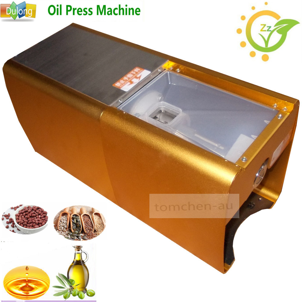 New Household small oil press machine cold hot press commercial Nut Almond Cocount seed oil press machine 1 pcs 38 38cm small heat press machine hp230a