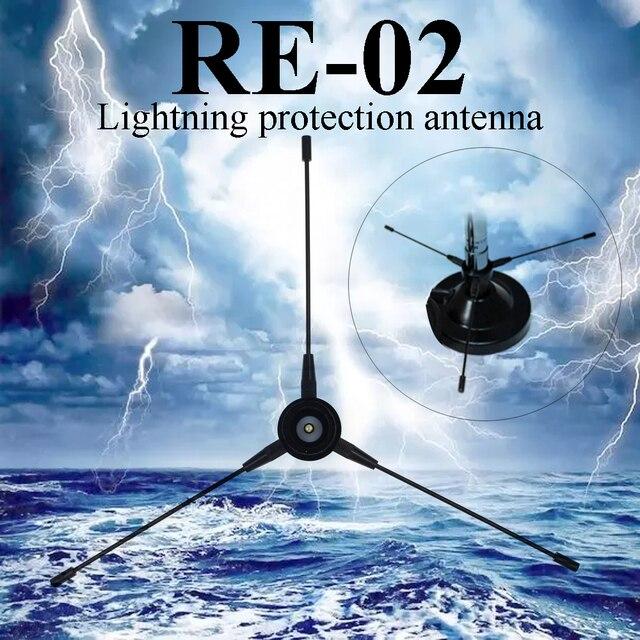 Nagoya RE-02 Mobile Ground antenna UHF-F Radio Station Radical 10-1300MHz for For Car Radio Mobile Radio