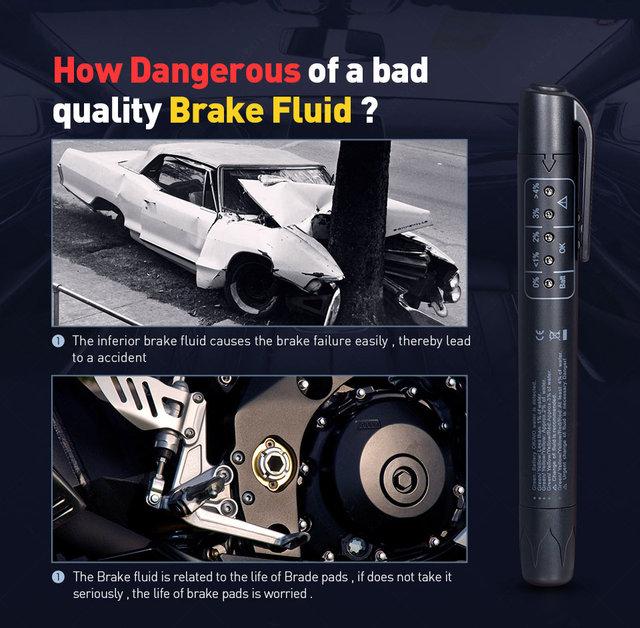 Accurate oil quality check pen uni