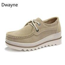 6cc58953a Dwayne Borla Plataforma Sneakers Suede Fringe Mulheres Trepadeiras  Apartamentos Grossos Sapatos Casuais de Fundo Feminino Respirável