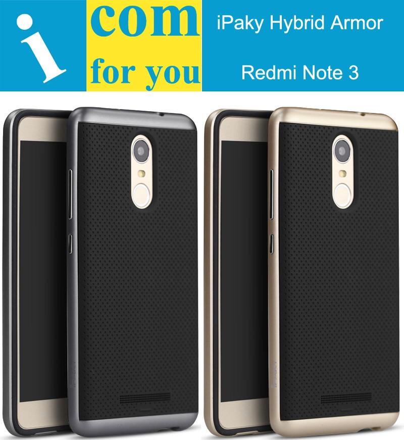 Original ipaky Hybrid Slim Armor Cover Case For Xiaomi Redmi Note ...