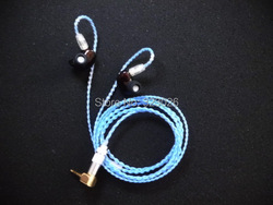 Micro Moving coil diy earphone Single-crystal copper wire