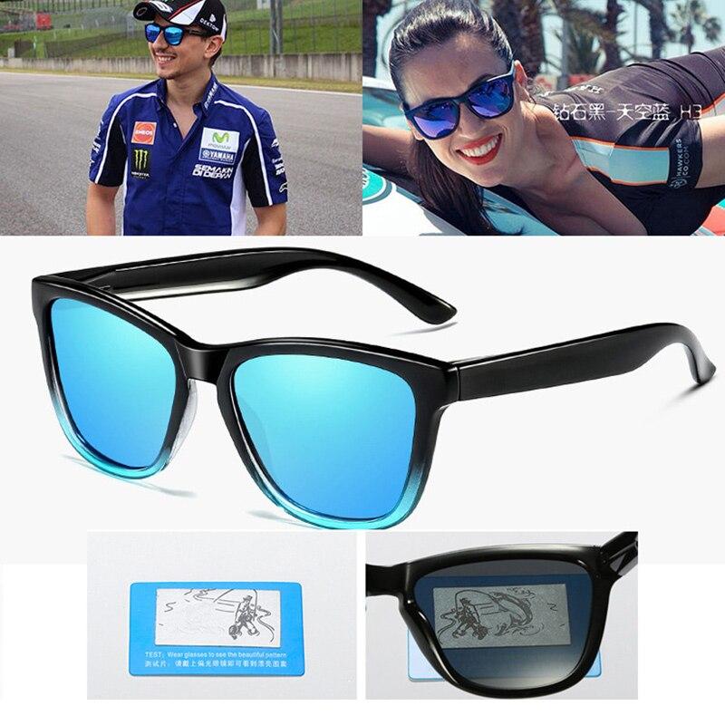f8e85c6e63 Lvvkee Unisex polarizadas hd gafas de sol hombres UV400 de conducción de  alta calidad espejos de puntos marco negro hombre mujer gafas de sol