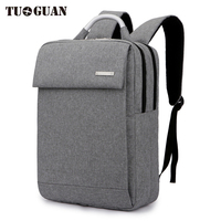 TUGUAN Fashion Men S Waterproof Business Travel Casual 15 6 Inch Laptop Backpack College Student Computer