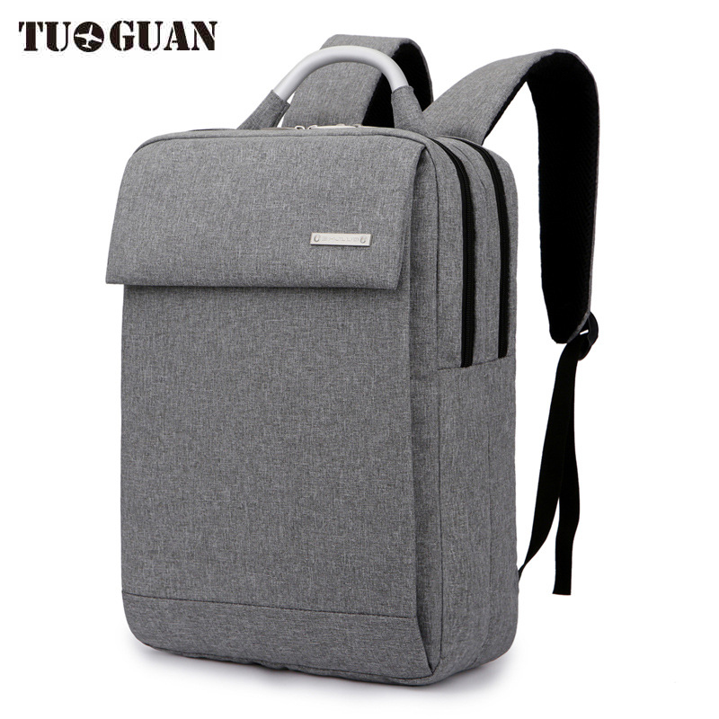 TUGUAN Fashion Men Waterproof Backpack Travel Casual Laptop Back Pack Schoolbag Student Computer Bags Bagpack for Boy Male fashion school backpack men boys schoolbag back pack leisure korean man laptop knapsack waterproof travel bags for teenagers