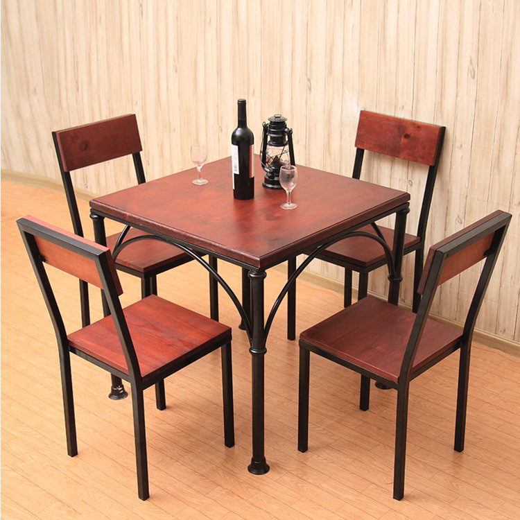 However Excellent Home American Country Into A Nostalgic Restaurant Tables  And Chairs Combination Packages Simple Wood To Do The In Dining Chairs From  ...