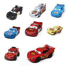 20 Style Disney Pixar Cars Lightning Mcqueen 1:55 Scale Diecast Metal Alloy Modle Brio Cute Toys for Children Birthday Gifts