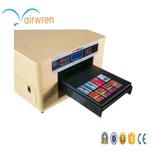 A3  size UV printer for Acrylic plate Wooden Metal plate With CE