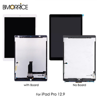 LCD Display For iPad Pro 12.9 inch A1652 A1584 Touch Screen Digitizer Tablet Assembly Replacement with Small Board Black White