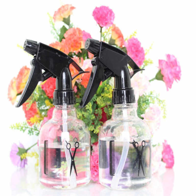 Ishowtienda 250 Ml Kosong Plastik Spray Botol Air Kabut Sprayer Gaya Potongan Rambut Salon Tukang Cukur Penyiraman Pembersih Semprotan Taman