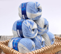 400g Lot Colorful Soft Baby Wool Yarn Thick Acrylic Blended Wool Knitting Yarn Hand Knitted Yarn