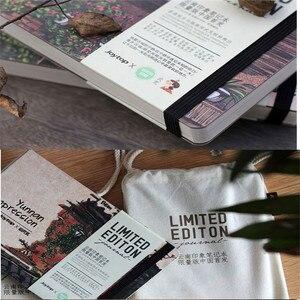 Image 2 - ランダムな色文房具木製 A5 ノートブックスケッチブック空白メモ帳水彩紙学校ギフト用品ヴィンテージブック