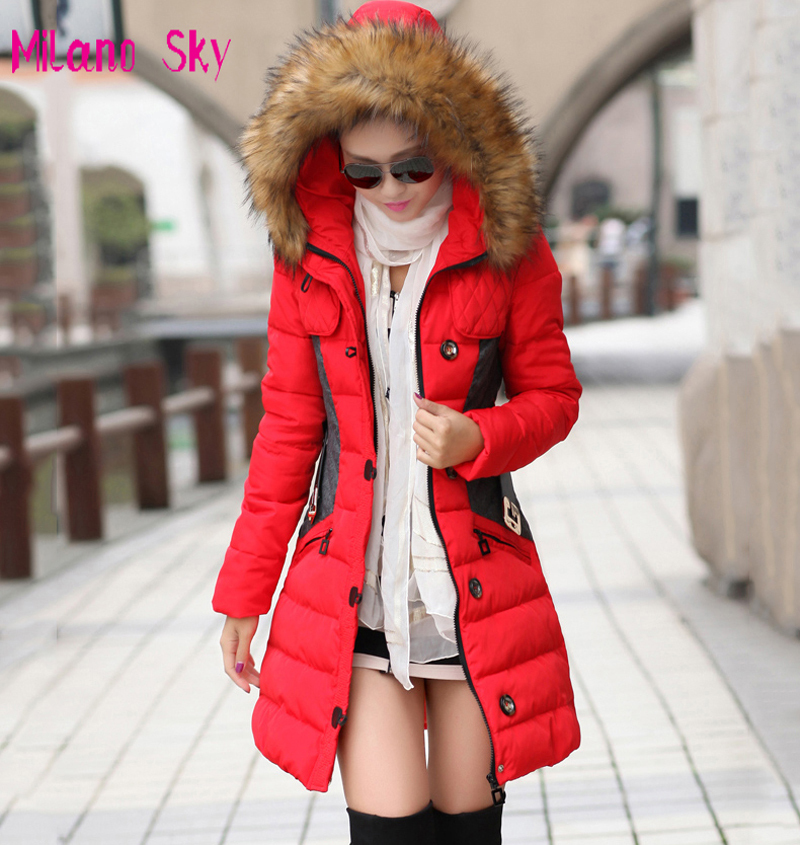 Brand New Winter Jacket Women Parka Coat Abrigos Y -5500