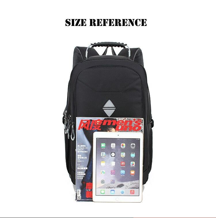 LeveLive Laptop Backpack Men Multifunction Antitheft Travel Bags Male Rucksack Waterproof Oxford Computer Backpacks For Teenager