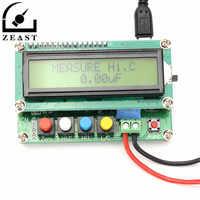 LC100-A numérique LCD capacité mètre Inductance Table LC compteur fréquence 1pF-100mF 1uH-100H avec Clip de Test