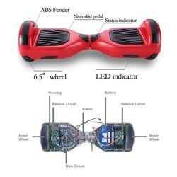 Hoverboard deskorolka skuter elektryczny Electrico inteligentny bilans pokładzie Monopattino Elettrico obsługi Hoover pokładzie Hulajnoga Elektryczna 3