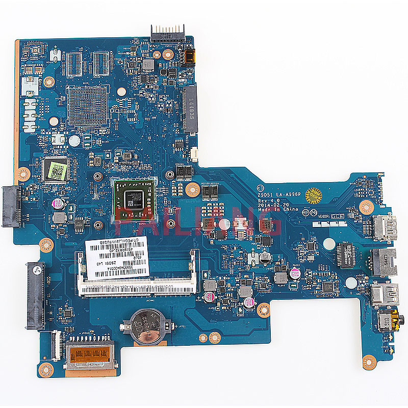 Laptop Motherboard For HP 15-G 255 G3 250 G3 E2-6110 PC Mainboard 765105-001 765105-501 ZS051 LA-A996P Full Tesed DDR3
