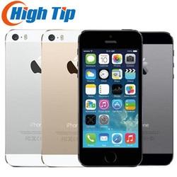 iPhone 5S Factory Unlocked Original 16GB/32GB/64GB ROM 8MP Touch ID iCloud App Store WIFI GPS 4.0 inch Fingerprint IOS